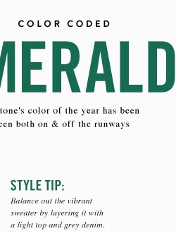Color Coded - Emerald