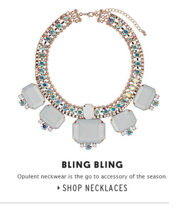 BLING BLING - Shop Necklaces