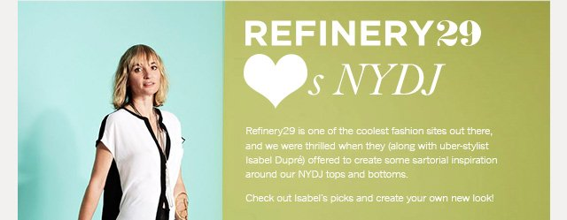 Refinery29 loves NYDJ