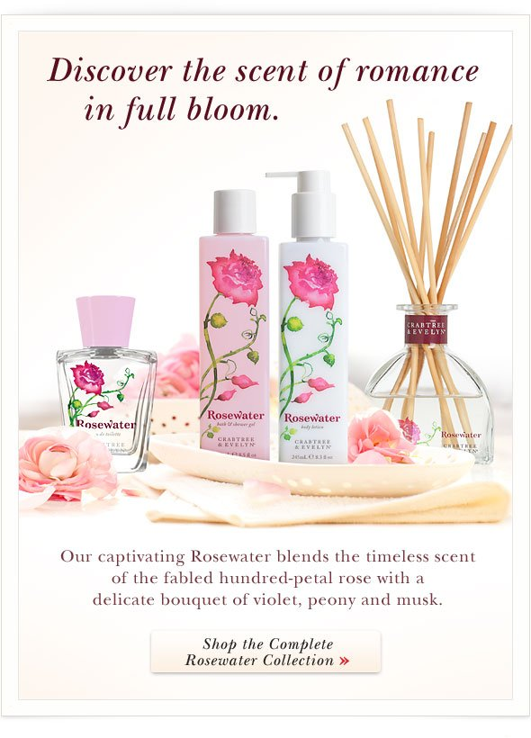 Discover the scent of romance in full bloom.