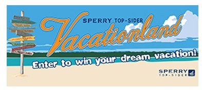 Sperry Top-Sider Vacationland: Escape to the Cape Sweepstakes.