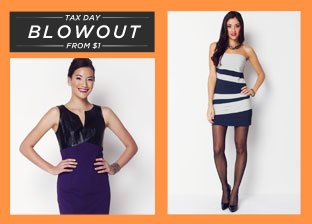 Blowout: Dresses from $1