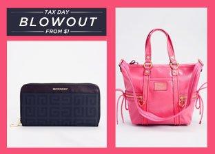 Blowout: Designer Handbags from $1