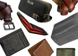 Andrew Marc: Belts & Wallets