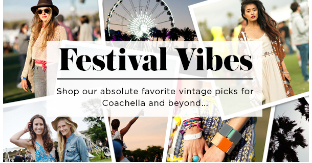 Festival vibes: Shop our absolute favorite vintage picks for Coachell and beyond...
