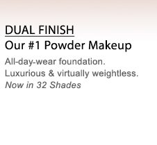 DUAL FINISH | Our #1 Powder Makeup | All-day-wear foundation. Luxurious & virtually weightless. Now in 32 Shades