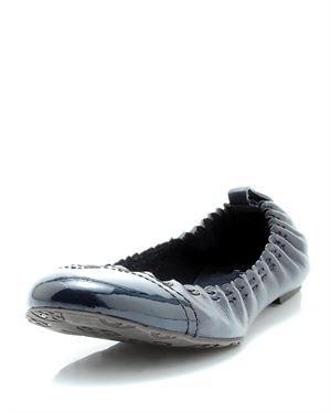 Tory Burch Abbey Patent Toe Ballerina Flats