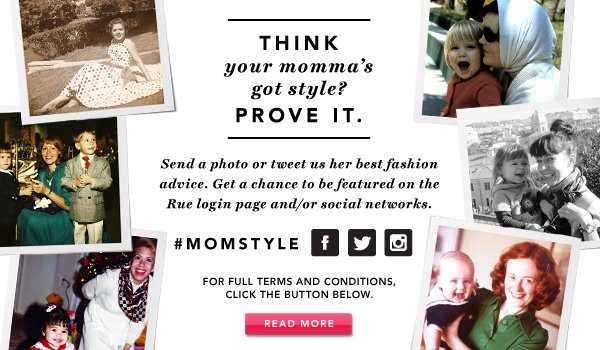 Mother's Day. Shop Now.