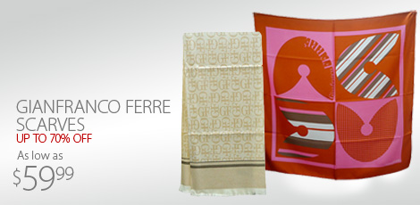 Gianfranco Ferre Scarves