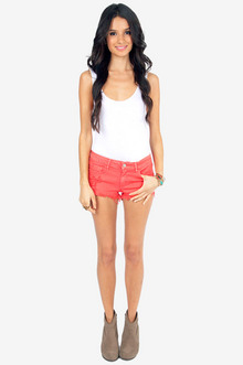 Color Cozy Cutoff Shorts $30