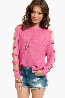 Right or Rung Sweater $40