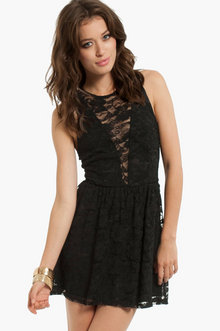 Shelly Lace Skater Dress $26