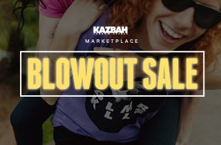 Marketplace: Blowout Sale