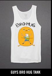 GUYS BRO HUG TANK