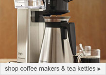 shop coffee makers & teakettles