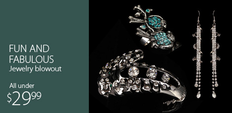 Fun and Fabulous Jewelry Blowout