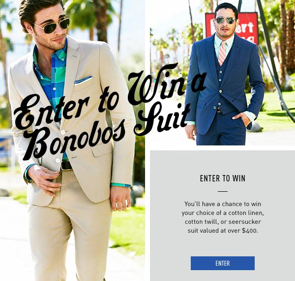 Win A Bonobos Suit