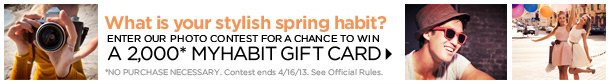 Spring Style Photo Contest