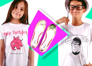 Dogo Shoes & T-Shirts for Kids