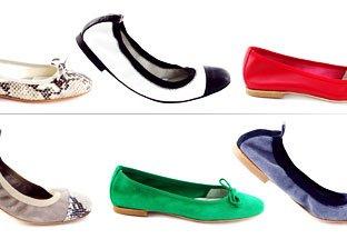 Italian Flat Shoes by La Differenza