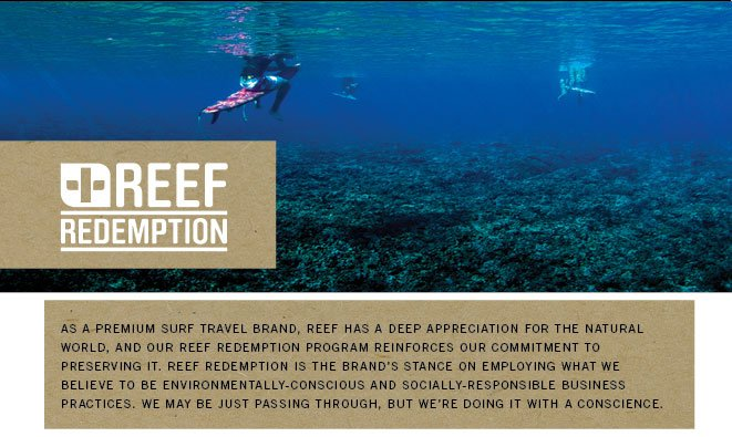 Reef Redemption #JUSTPASSINGTHROUGH With Conscience