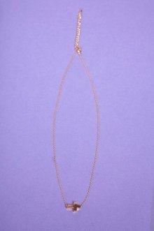 Dainty Cross Necklace $4