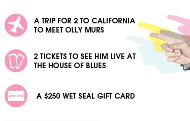 Win A Trip To California To Meet Olly Murs - Sign Up Now