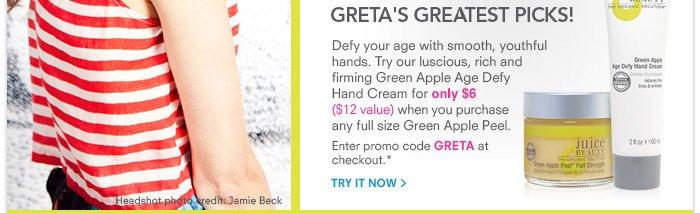 Greta's Greatest Picks!