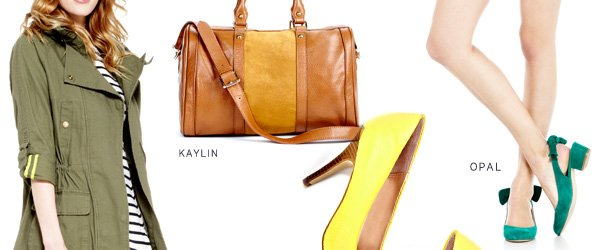 Genuine Leather & Suede. Shop Kaylin & Opal