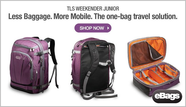 Shop eBags TLS Weekender Convertible Junior