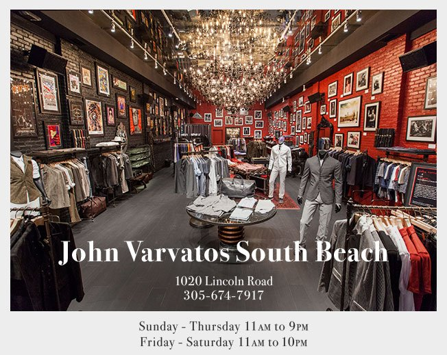 John Varvatos South Beach