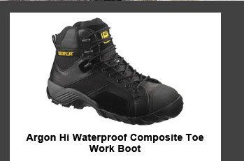 Men's Argon Hi Waterproof Composite Toe Work Boot
