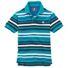 Earthkeepers® Short Sleeve Striped Pique Polo