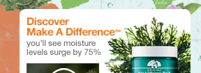 Discover Make a Difference you will see moisture levels surge by 75 percent