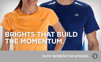 Brights that Build the Momentum. Shop Momentum Apparel.