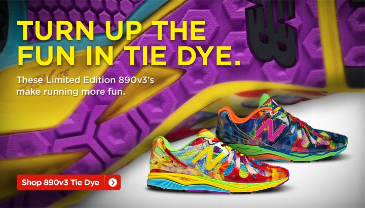 Shop 890v3 Limited Edition Tie Dye