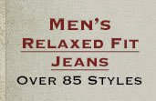 Shop All Mens Relaxed Fit Jeans