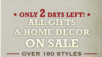 Shop All Gifts and Decor on Sale