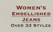 Shop All Womens Embellished Jeans