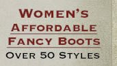 Shop All Womens Affordable Fancy Boots