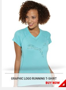 GRAPHIC LOGO RUNNING T-SHIRT. BUY NOW