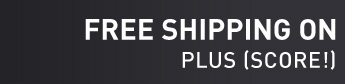 FREE SHIPPING ON ORDERS OVER $85* PLUS (SCORE!) FREE RETURNS