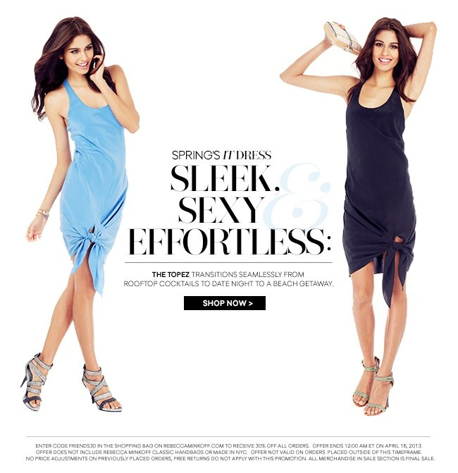 Spring's It Dress is Sleek, Sexy and Effortless