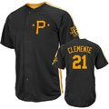 Roberto Clemente Pittsburgh Pirates Majestic Cooperstown Crosstown Rivalry Player Jersey