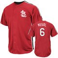 Stan Musial St. Louis Cardinals Majestic Cooperstown Crosstown Rivalry Player Jersey