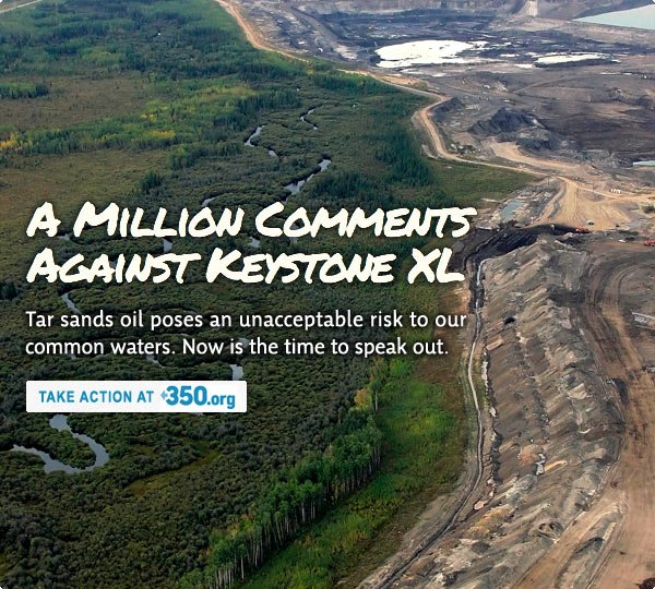 Speak out against Keystone XL. The clock is ticking.