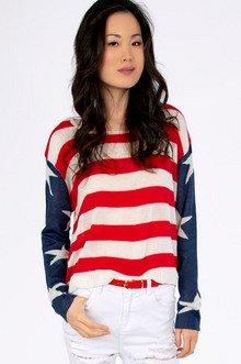 God Bless America Sweater $35