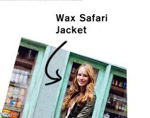 Wax Safari Jacket