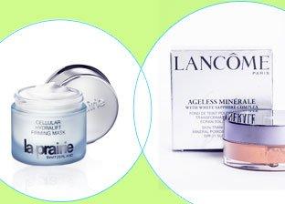 Lancome, Clarins, La Prairie Cosmetics
