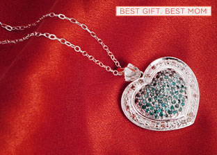For Mom with Love: Heart-shaped Jewelry
